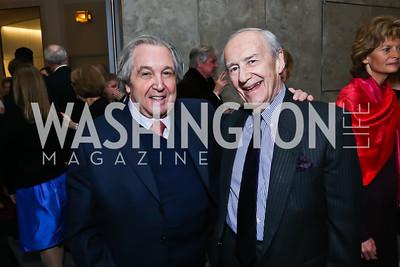 Marc Leland, Peter Rosenblatt. Photo by Tony Powell. Ina Ginsburg Celebration. Kennedy Center. February 9, 2015