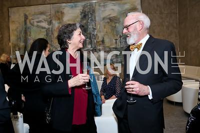 Maria Manhattan, John Rooney. Photo by Tony Powell. Ina Ginsburg Celebration. Kennedy Center. February 9, 2015
