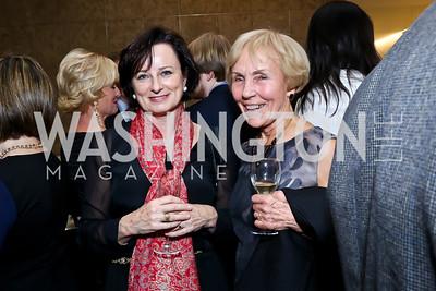 Anita Ensor, Marianne Ginsburg. Photo by Tony Powell. Ina Ginsburg Celebration. Kennedy Center. February 9, 2015
