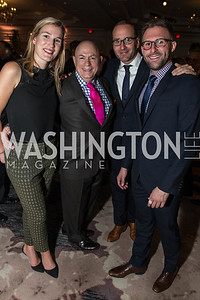 Olivia Dalton, David Hagedorn, Chad Griffin, Charlie Joughin. Photo by Alfredo Flores. Chefs for Equality‏. The Ritz-Carlton. October 20, 2015