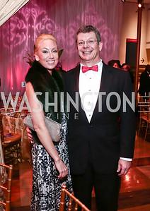Lauren Burke, Scott Pritchett. Photo by Tony Powell. 2015 Choral Arts Gala. Kennedy Center. December 14, 2015
