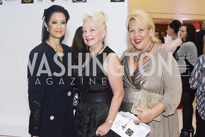 Linda Awkard, Carole Randolph, Marsha Muawwad