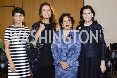 Aniko Gaal Schott, Shamim Jawad, Shahin Mafi, Alexandra de Borchgrave