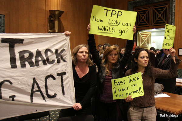 Congressional Hearing On TPP