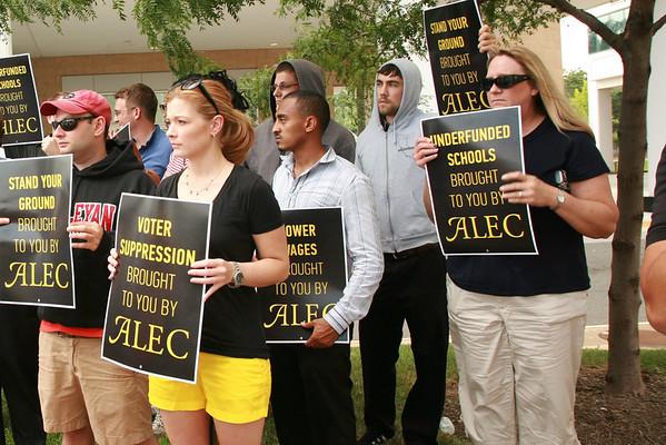 Crash the ALEC Party /Justice for Trayvon 7/18/13