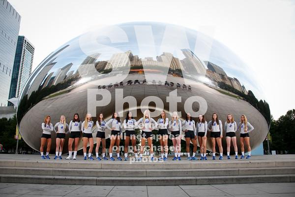 2016 DePaul Volleyball Team