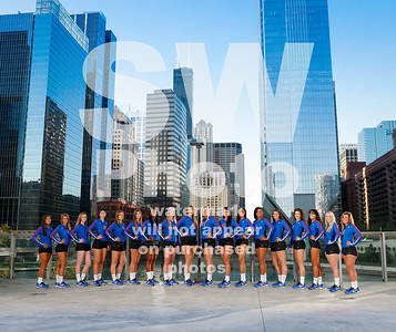 2017 DePaul Volleyball Team