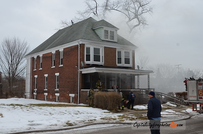 2/16/18 - 1616 Hurlbut St - 1009 hours – Engines 9, 32, 41, Ladder 6, Squad 6, Chief 6. Chief 6 had fire in a 2 family flat, 1st engine will be stretching. Engine 32 stretched. 2 lines operated.