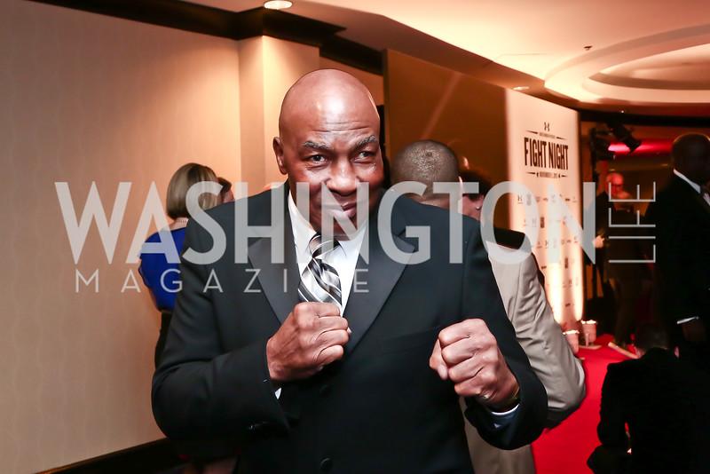 Boxer Earnie Shavers. Photo by Tony Powell. 2015 Fight Night. Hilton Hotel. November 5, 2015