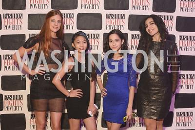 Courtney Barriger, Emma Monroe, Diana Castro, Naz Harounian