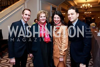 Kieron Pisano, Martha Slagle, Marcie Haley, Peter Herink. Photo by Tony Powell. Great Ladies Luncheon and Fashion Show. April 15, 2015