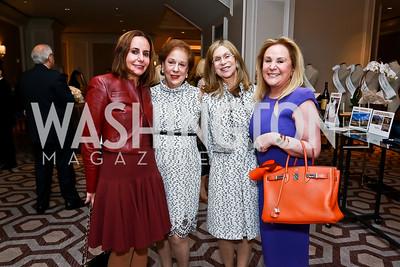 Mia Kogan, Dobra Marshall, Beth Glassman, Diana Kogan. Photo by Tony Powell. Great Ladies Luncheon and Fashion Show. April 15, 2015
