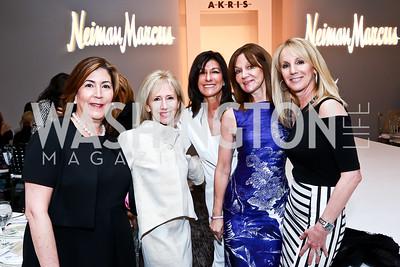 Stacy Samet, Shelley Banks, Joan Hayman, Nancy Katz, Susan Kasnett. Photo by Tony Powell. Great Ladies Luncheon and Fashion Show. April 15, 2015