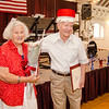 Dorith and Fred Washington are named king and queen during the annual Civic Days luncheon at the Senior Center on Friday morning. SENTINEL & ENTERPRISE / Ashley Green