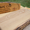 Engraved wood products from Rustic Craft are sold at the Fitchburg Farmers Market. The market, usually held at Riverfront Park, will now be held on the Upper Common every Thursday 4-7 pm through the fall. SENTINEL & ENTERPRISE / Ashley Green
