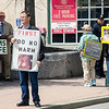 Pro-life and pro-choice advocates held a rally outside Planned Parenthood in Fitchburg on Saturday morning. SENTINEL & ENTERPRISE / Ashley Green