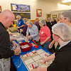 Almost 90 volunteers from Workers Credit Union and Simonds International helped out during the food packing event held at Simonds International on Thursday afternoon. Over 22,000 meals were packaged for local food pantries in partnership with the United Way of North Central Massachusetts. SENTINEL & ENTERPRISE / Ashley Green
