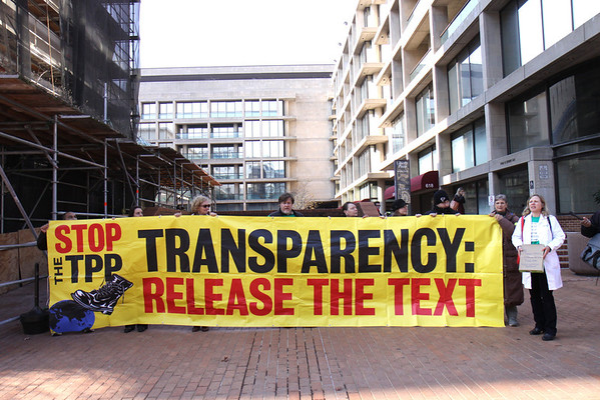 Flush The TPP Dec. 3,2013
