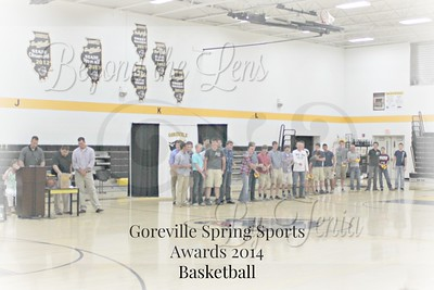 Goreville Spring Sports Awards Ceremony 2014