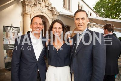 Hunter Johnston, Elizabeth Singer, Frederick Singer