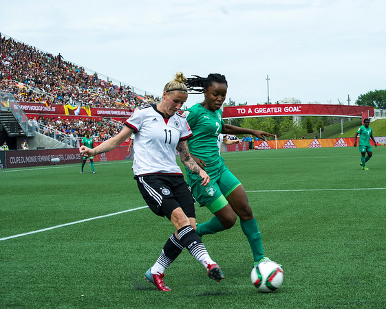 #3 Germany v Cote D'Ivoire - Ottawa - June 7