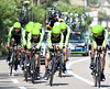 Cannondale-Garmin were all over the place, and took 19th place, 53-seconds down...