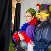 Tia and Tammi Feltcher, both of Leominster, have some fun in the photobooth during the Greater Gardner Relay for Life. SENTINEL & ENTERPRISE / Ashley Green