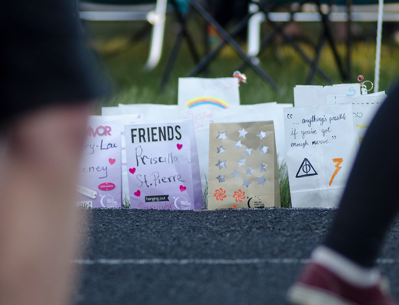The Greater Gardner Relay for Life was held at Mount Wachusett Community College on Friday evening. SENTINEL & ENTERPRISE / Ashley Green