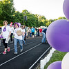 Walkers loop the track during the Greater Gardner Relay for Life. SENTINEL & ENTERPRISE / Ashley Green