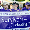 The survivor's lap kicks off to start the Greater Gardner Relay for Life. SENTINEL & ENTERPRISE / Ashley Green