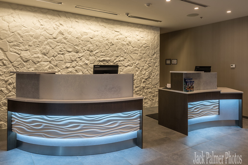 Architectural,  scenic, sunset, & reflection images.  Marriott SpringHill Hotel Rockwall, TX
