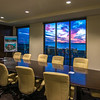 Architectural,  scenic, sunset, & reflection images.  Trend Tower view through TrendHR board room.