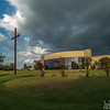 Architectural,  scenic, sunset, & reflection images.  Sunset and storm clouds Royse City TX