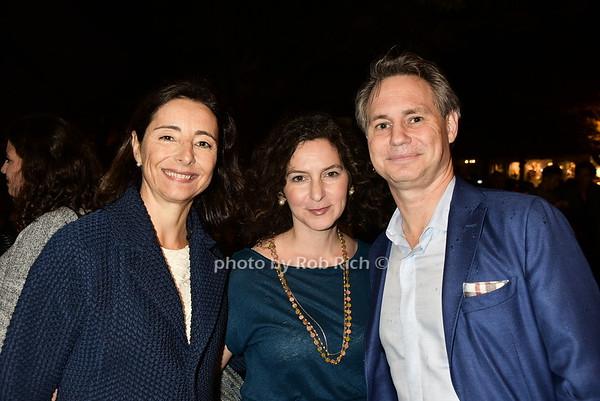 Pascaline Servan Schreiber, Simone Pero, Jason Binn<br /> photo  by Rob Rich/SocietyAllure.com © 2015 robwayne1@aol.com 516-676-3939