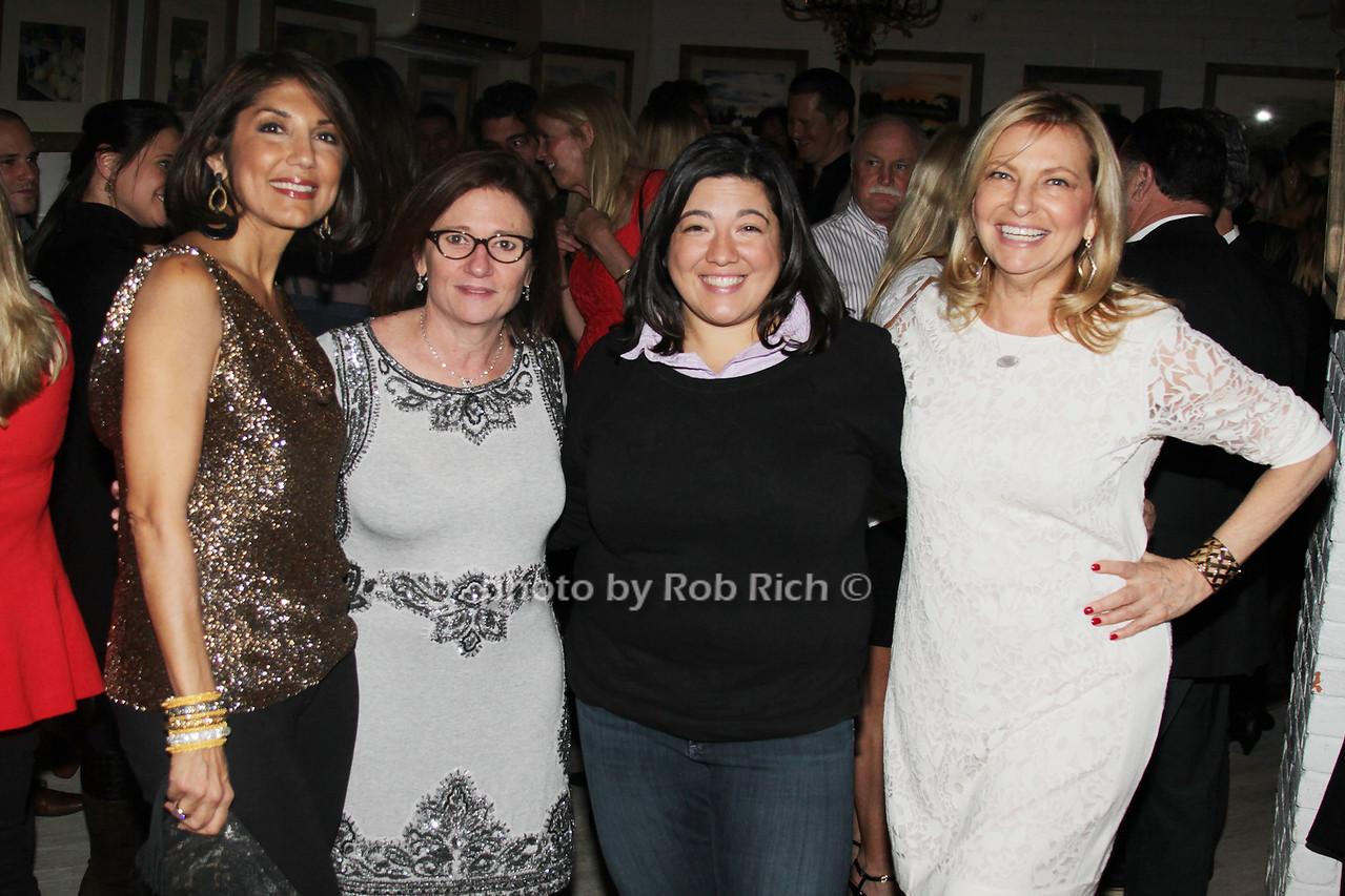Mala Sander, Melissa Cohn, Tina Pignatelli and Debra Halpert