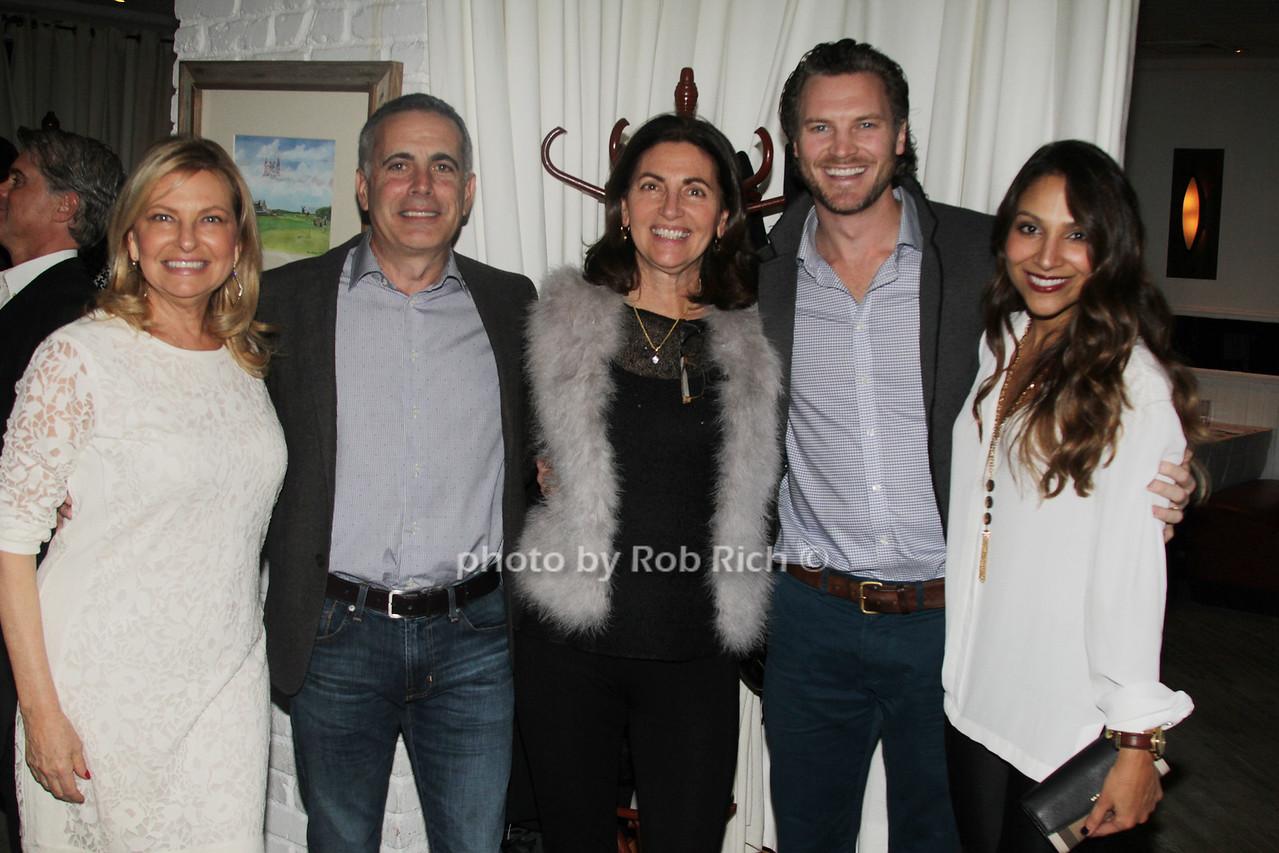 Debra Halpert, Chris Laguardia, June Laguardia, Dan Thorp and Cristina Thorp