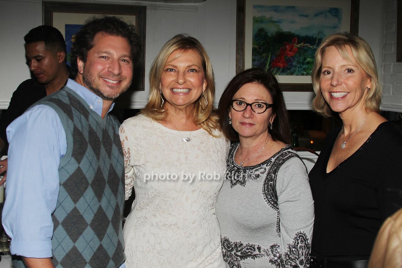 Adam Milleo, Debra Halpert, Melissa Cohn and Susan Breitenbach