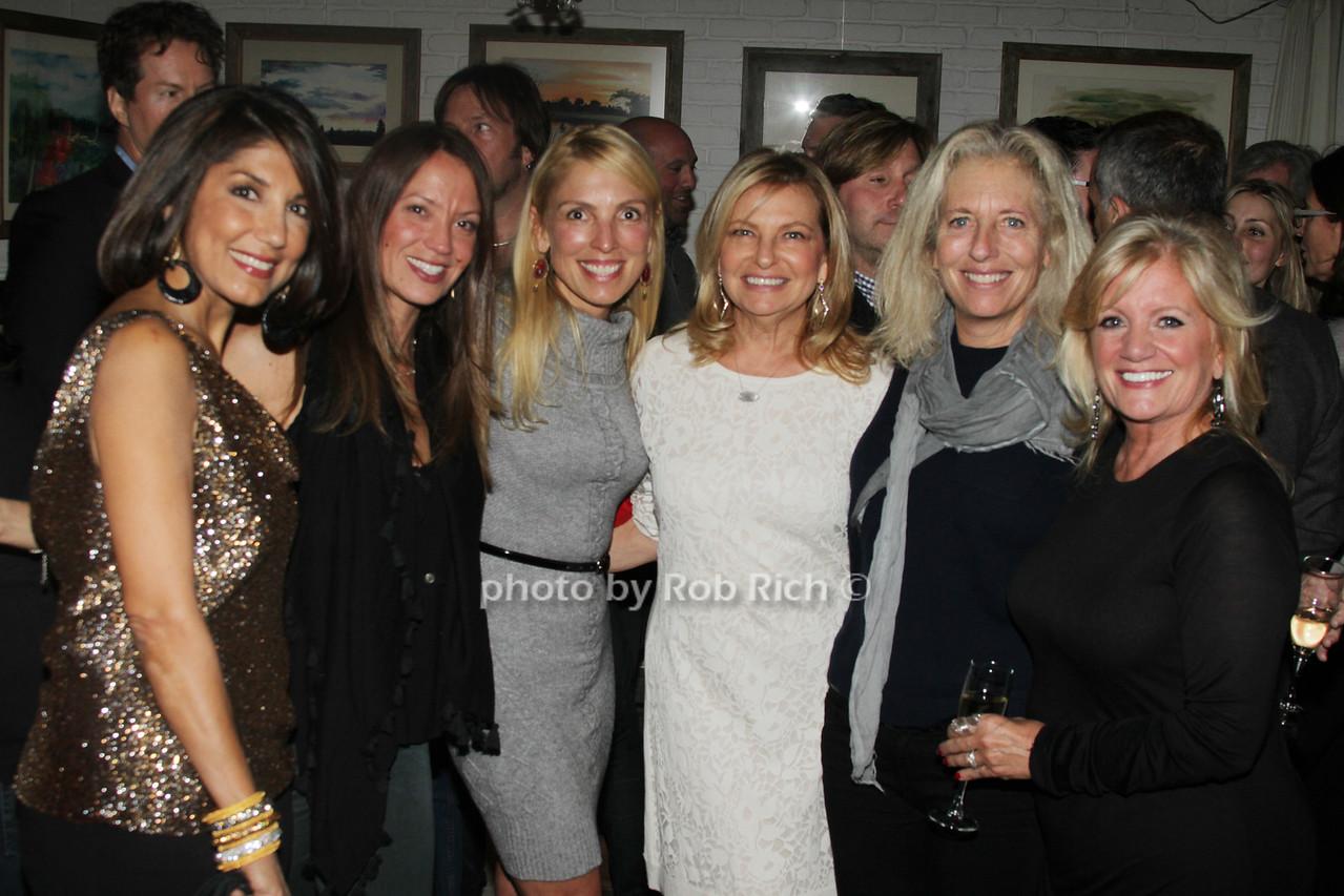 Mala Sanders, Beth Muhs McNeill,Gwen Bokine Debra Halpert, Jill Flemming and Annemarie Decker