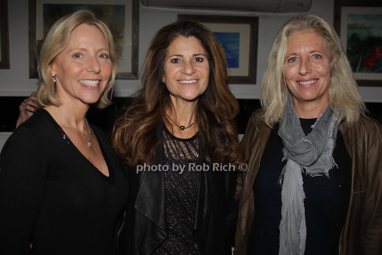 Susan Breitenbach, Lynn Blumenfeld and Jill Fleming
