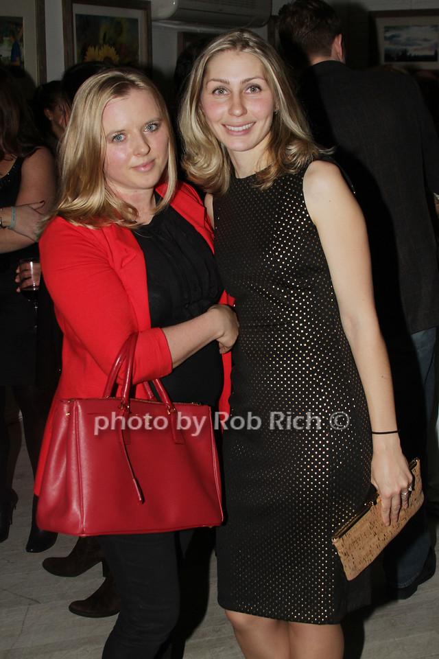 Aleksandra Kardwelo and Oxana Crawford