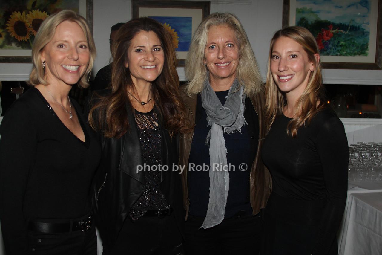 Susan Breitenbach, Lynn Blumenfeld,  Jill Fleming and Samantha Breitenbach
