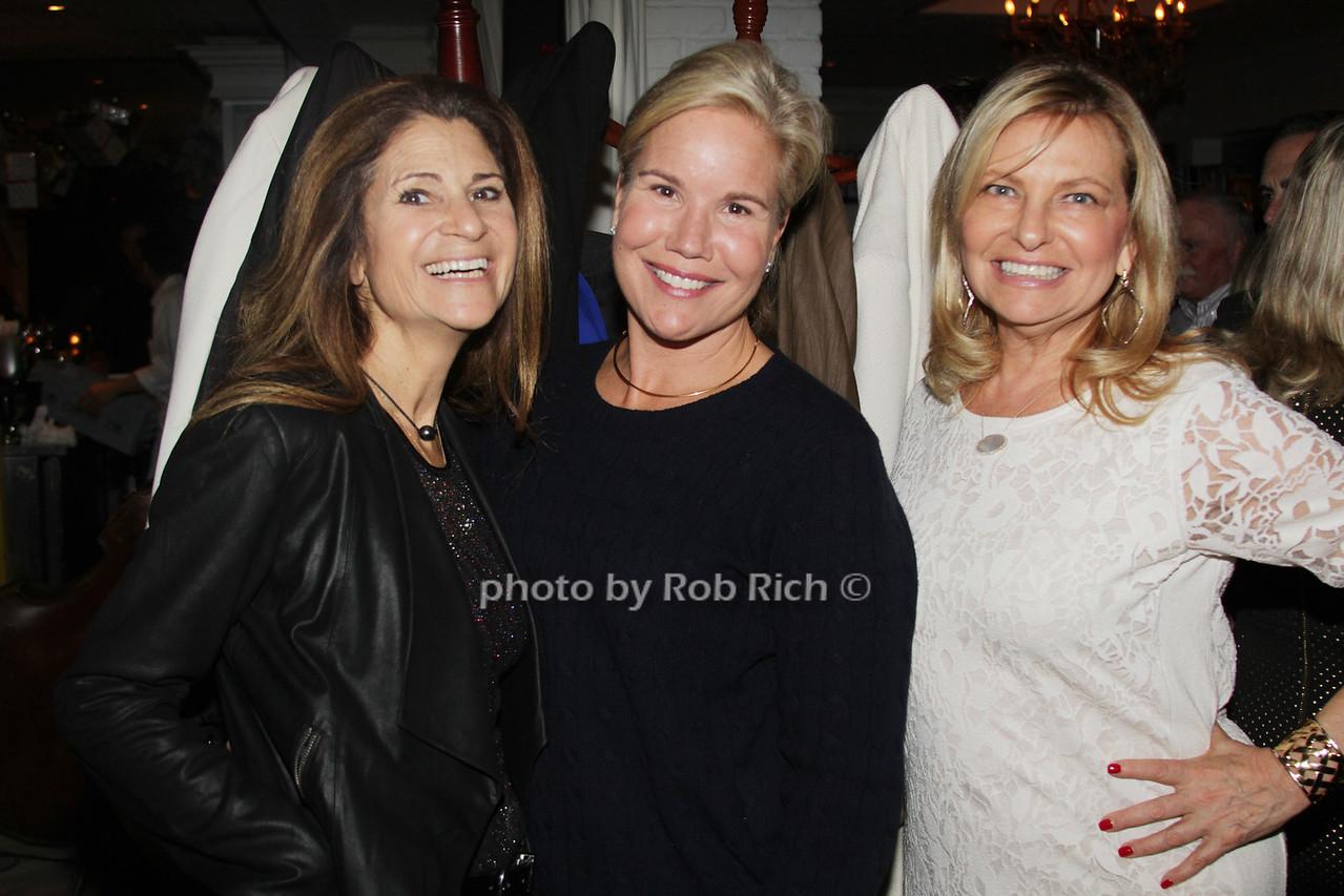 Lynn Blumenfeld, Dwyre Derrig and Debra Halpert