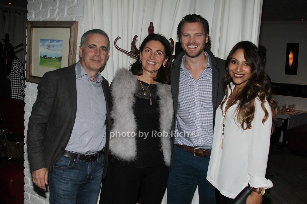 Chris Laguardia, June Laguardia, Dan Thorp and Cristina Thorp