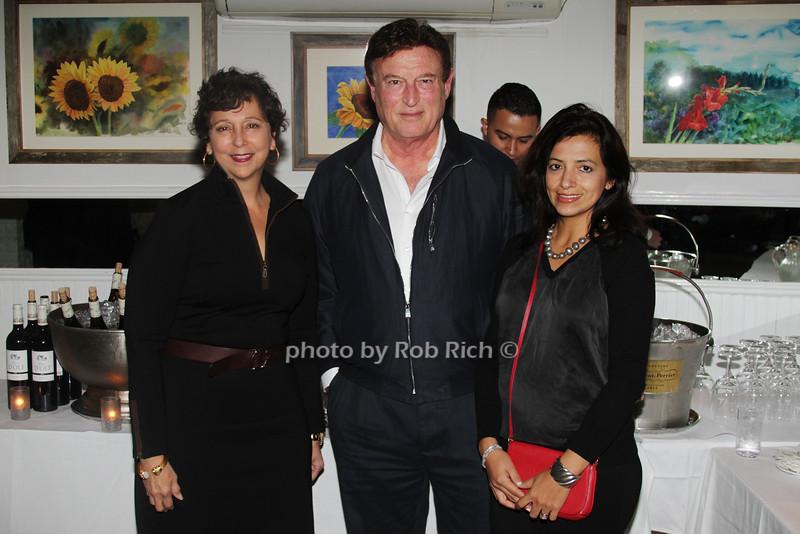 Claudia Pilato, David Yaron and Parla Yaron