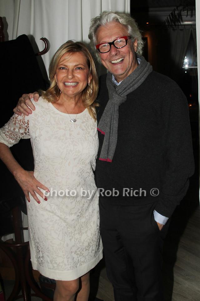 Debra Halpert and David Pierre