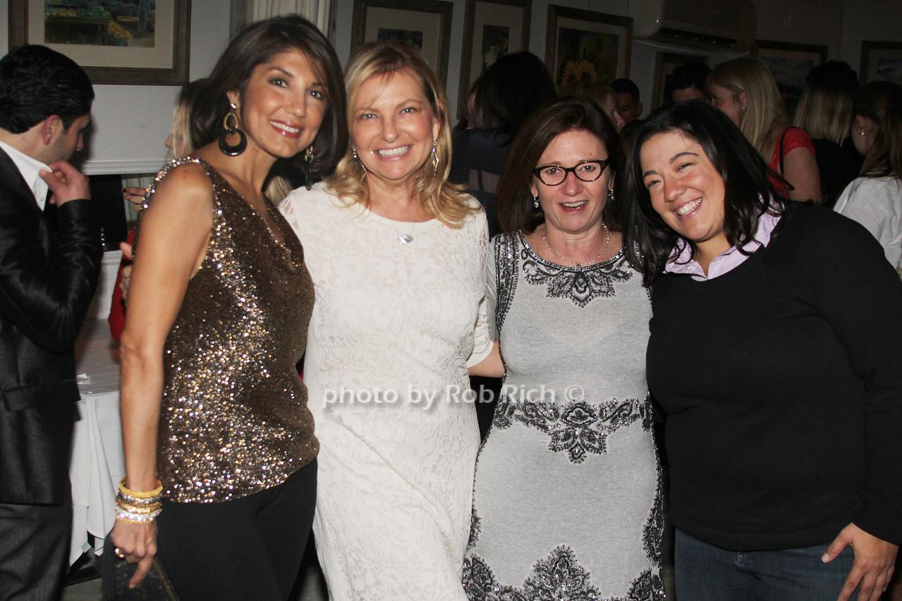 Mala Sander,Debra Halpert Melissa Cohn and Tina Pignatelli