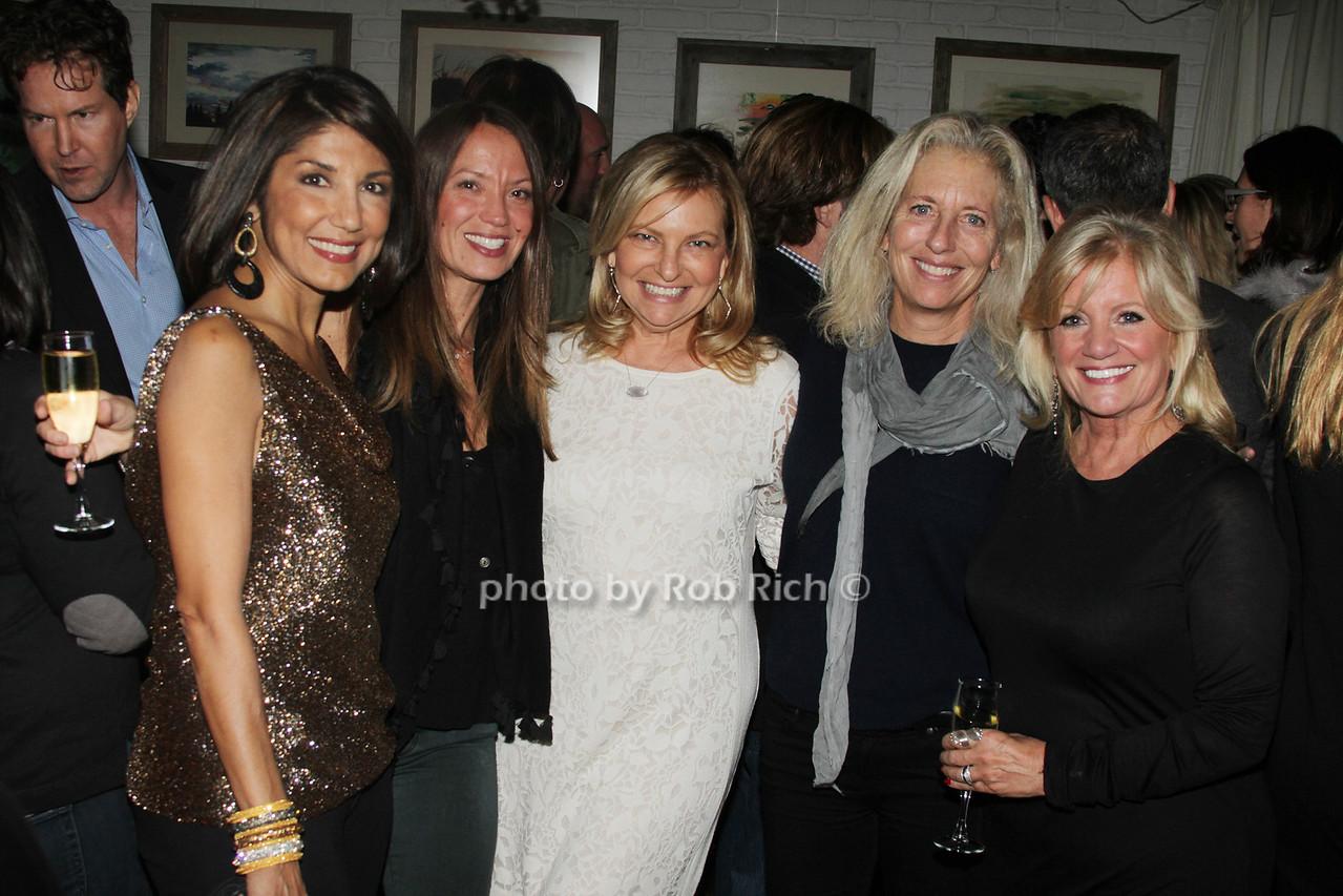 Mala Sanders, Beth Muhs McNeill, Debra Halpert, Jill Flemming and Annemarie Decker