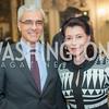 Amb Domingos Fezas Vital, JoAnn Mason, Harvard Business School, Maserati and Ermenegildo Zegna Host Private Dinner at the residence of the Italian Ambassador.  October 29, 2015, photo by Ben Droz.