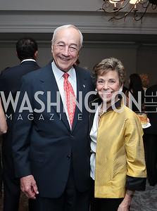 John and Margaret Dalton. Photo by Tony Powell. Harvard Business School Inaugural Gala. Ritz Carlton. June 11, 2015