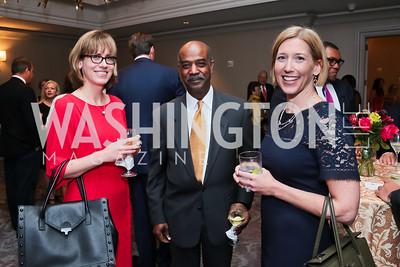 Jessica Watson, Patrick Prout, Kim Henderson. Photo by Tony Powell. Harvard Business School Inaugural Gala. Ritz Carlton. June 11, 2015
